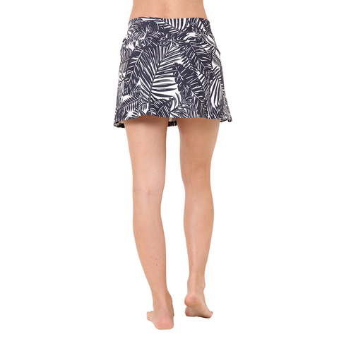 City Skort The Palms B&W (Final Sale)