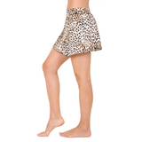 City Skort Queen Cheetah (Final Sale)
