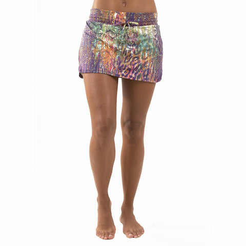 Ally Skorts Tanzania in Purple