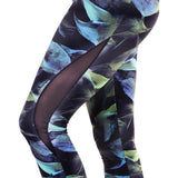 Mesh Waves Legging Dark Forest (Final Sale)