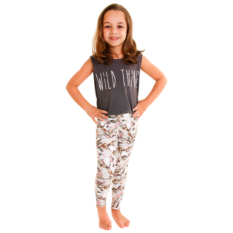 Mini Me Patterned Yoga Legging Pure Energy