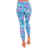 Patterned Yoga Legging Young Crush