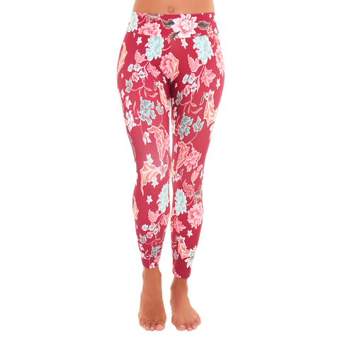 Patterned Yoga Legging Endless Love