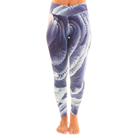 Patterned Yoga Legging Seashells