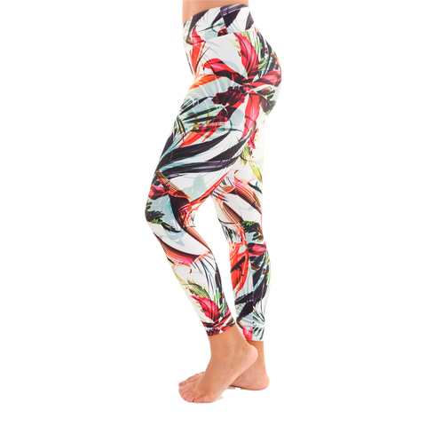 Patterned Yoga Legging Peaceful Sunday