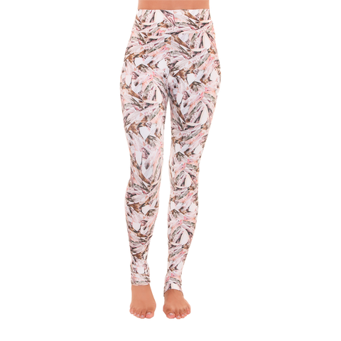 Extra Long Patterned Yoga Legging Pure Energy