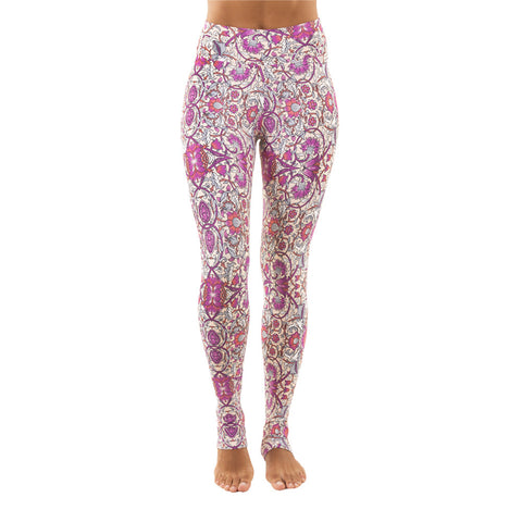 Extra Long Patterned Legging Tuscany