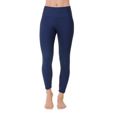 Solid Yoga Legging Navy