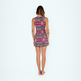 Patterned Short Dress - Mumbai (Final Sale)