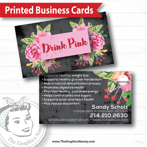 Business Card - Bed of Roses