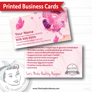 Business Card - Butterfly Kisses