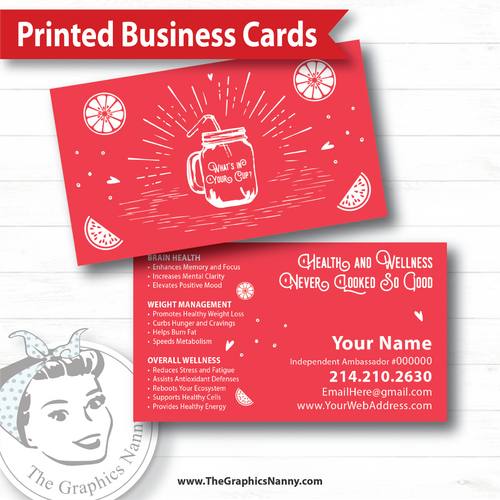Business Card - Cup of Happiness