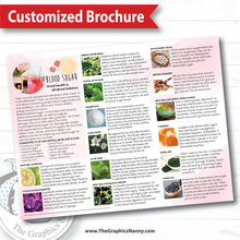 Load image into Gallery viewer, Customized Brochure - Ingredient Benefits
