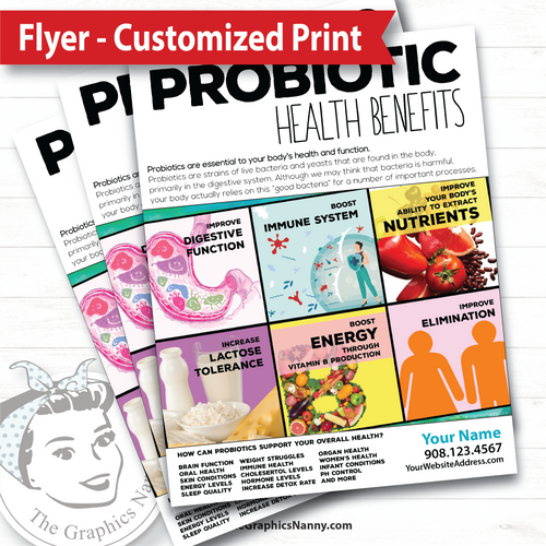 Flyer - Customized - Probiotics