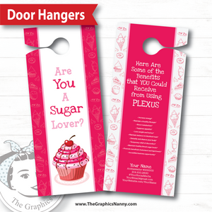 Door Hanger - Sugar Lover