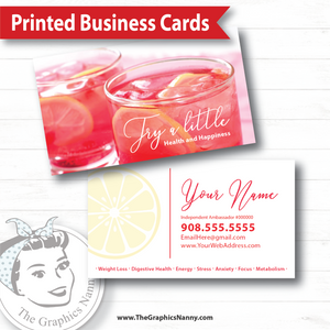 Business Card - Try a Little