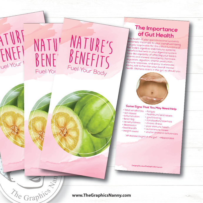 Generic Brochure - Ingredient Benefits