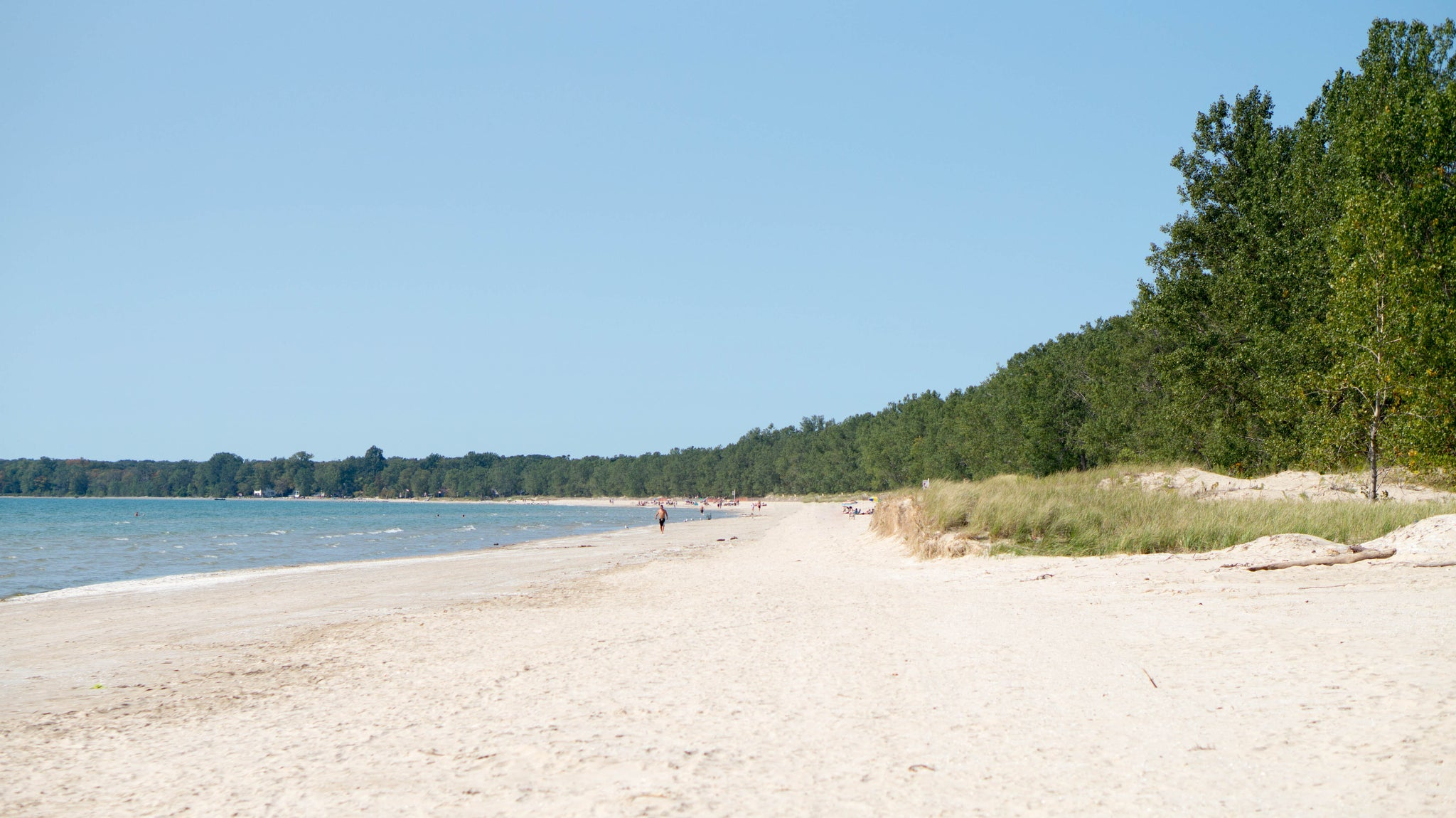 Sandbanks Beach and Provincial Park in Prince Edward County