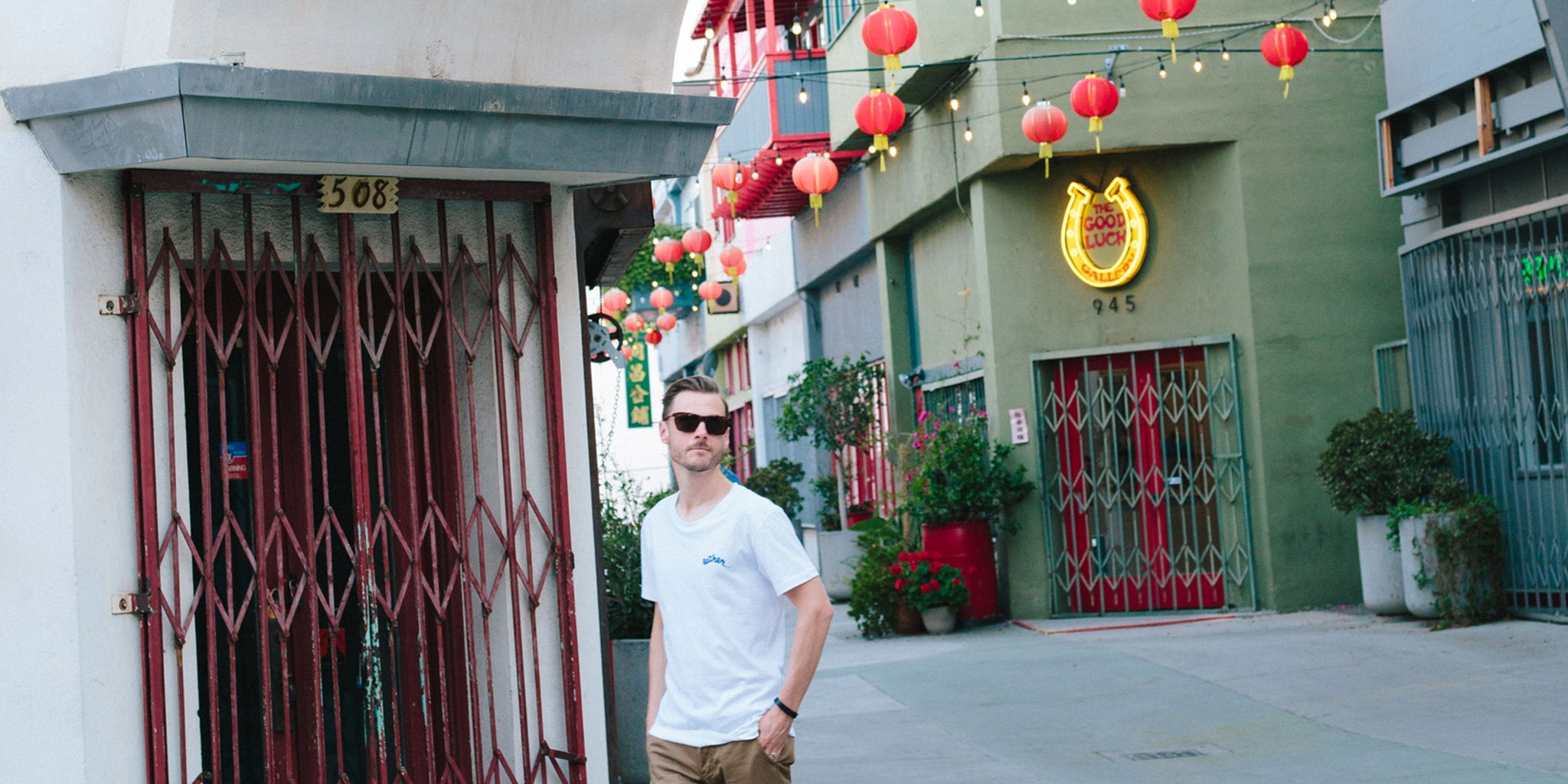Exploring LA's Chinatown with Sean Martin