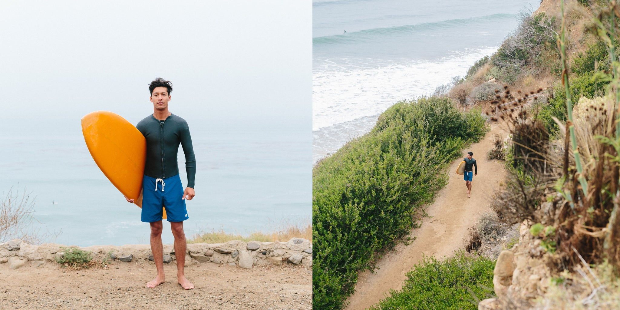 Surfing in LA by Sean Marin with Bather