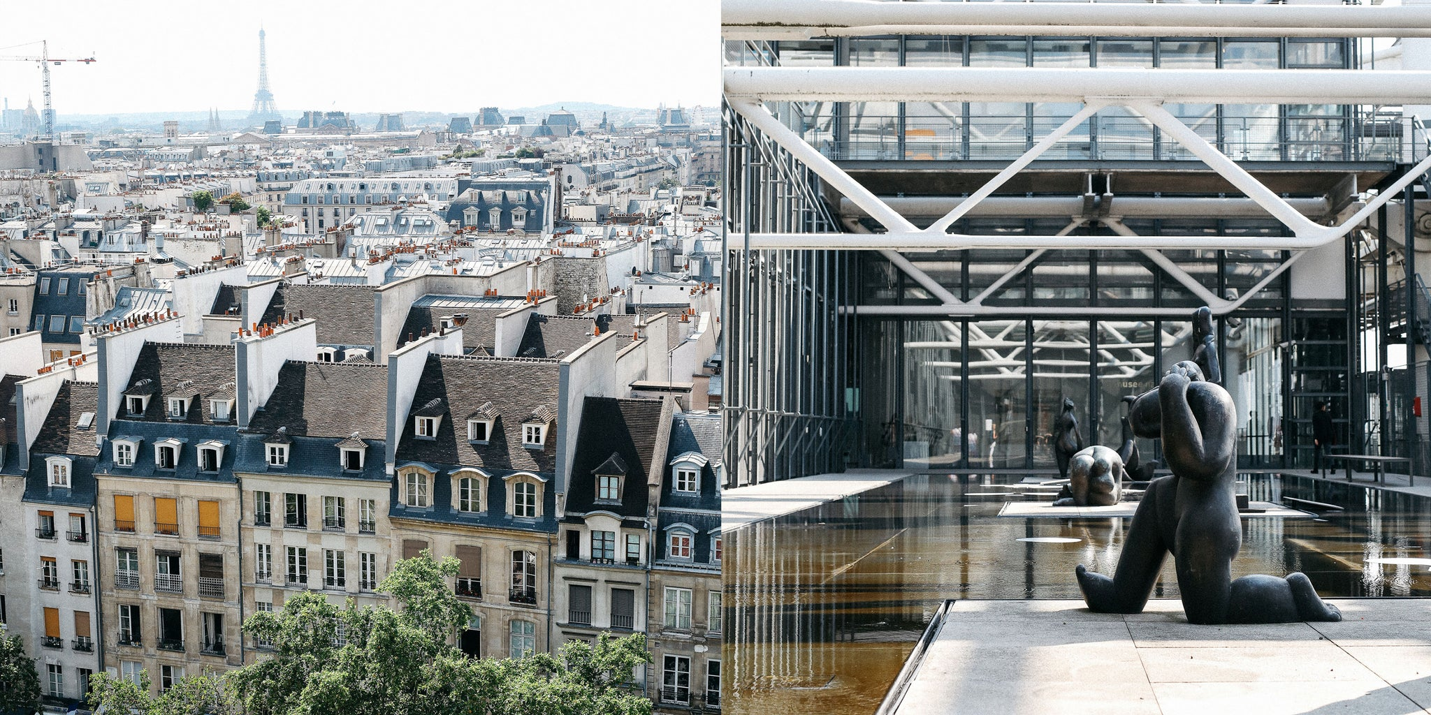 Paris city view and museum by Nicole Breanne