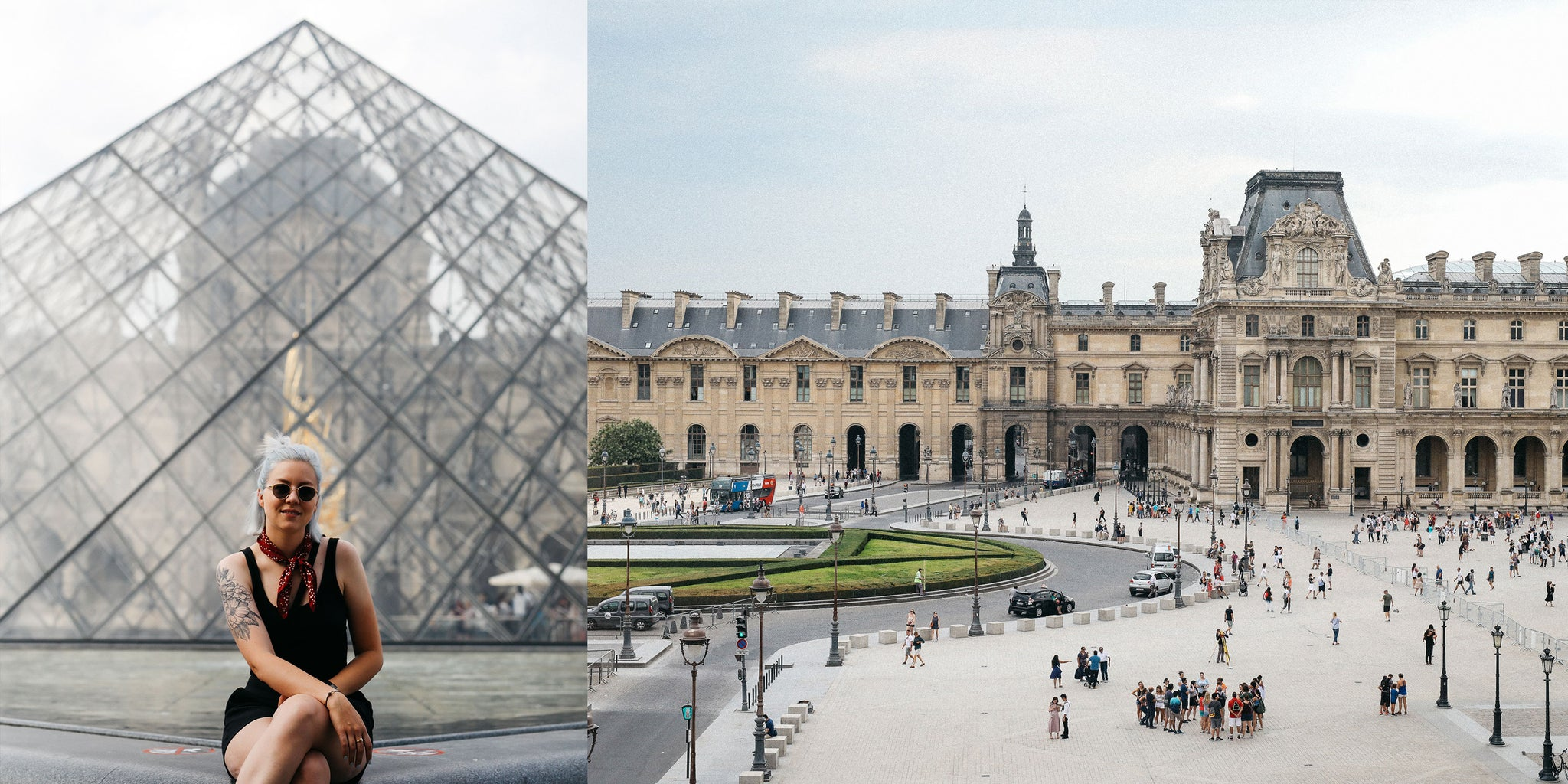 Le Louvre in Paris by Nicole Breanne for Bather