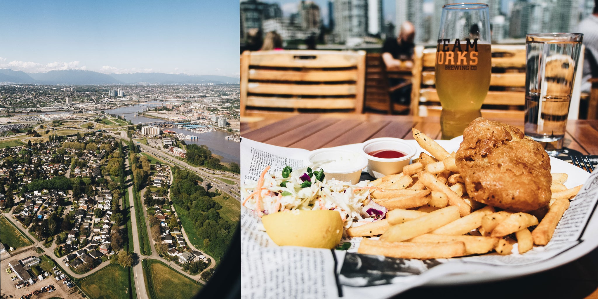 Bather's Excellent Adventures in Vancouver with Brandon Lind | Lunch at Team Works Brewing Co.