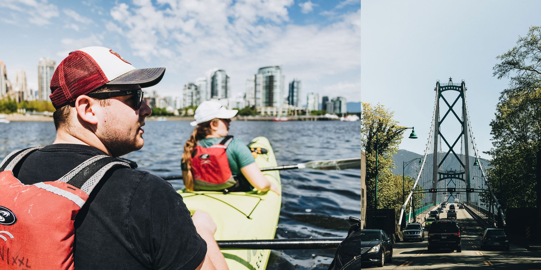 Brandon Lind's Excellent Adventure in Vancouver with Bather