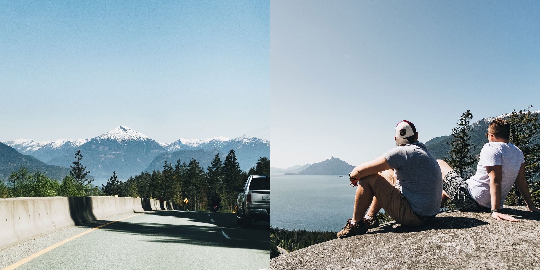 Bather's Excellent Adventures in Vancouver with Brandon Lind | Driving up the Sea to Sky Highway and hiking Murrin Provincial Park