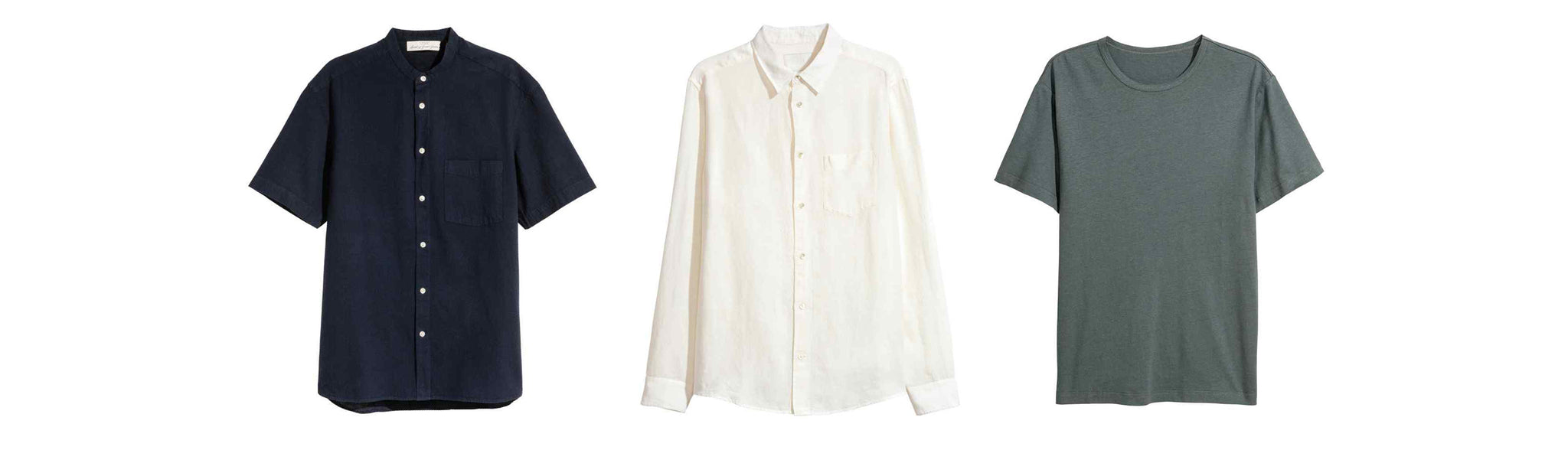 Linen Shirts to wear with your men's bathing suits this summer
