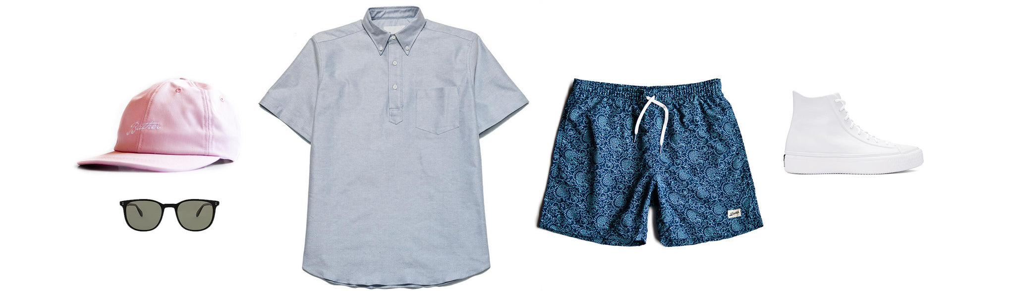 Men's Surf Trunk Outfit