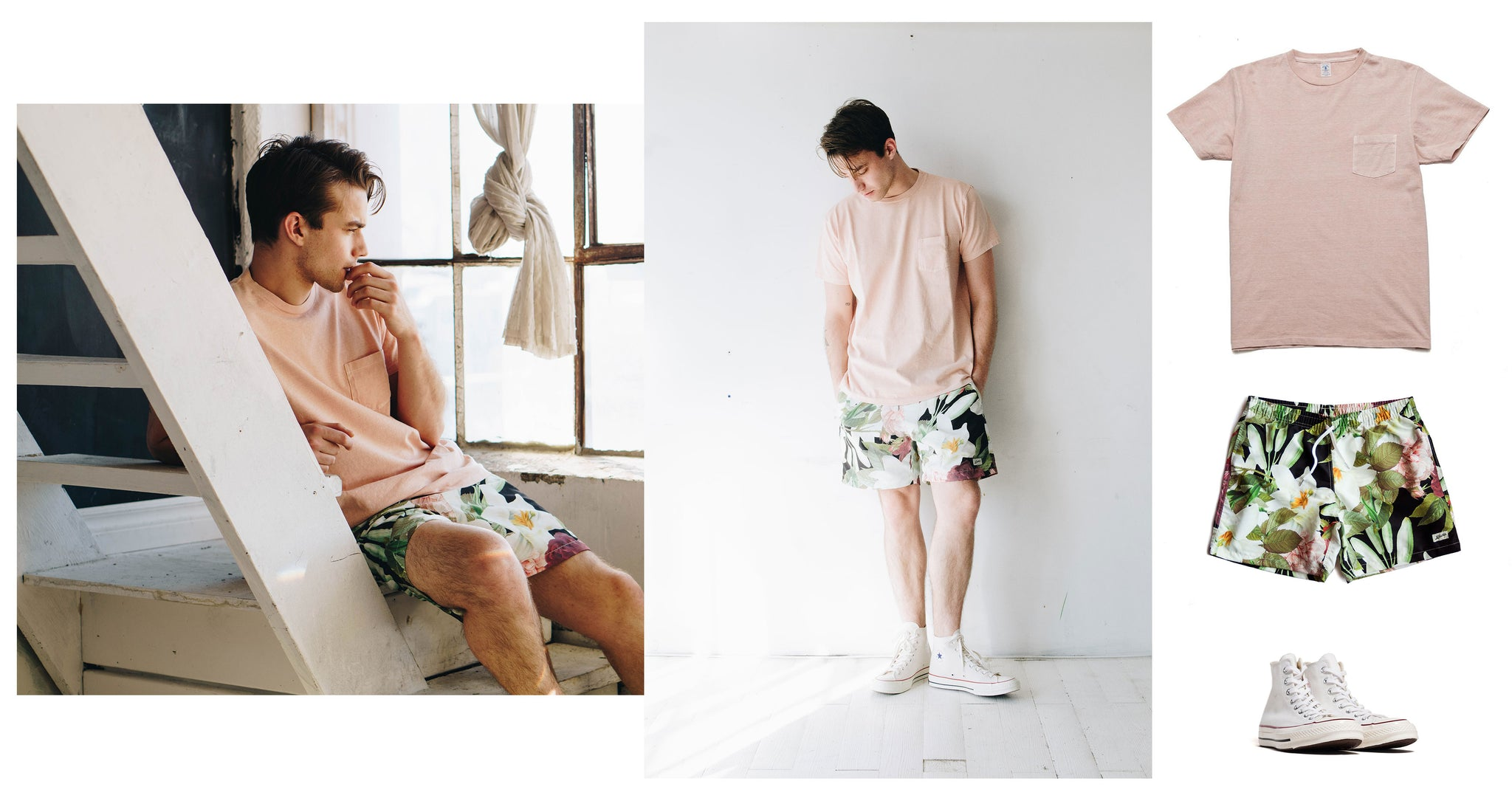 Bather SS18 - How to style the best swim trunks for men