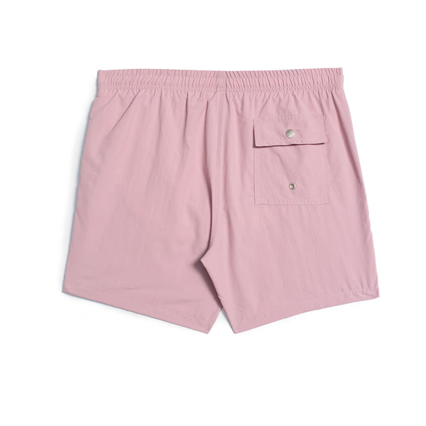 Solid Mauve Swim Trunk