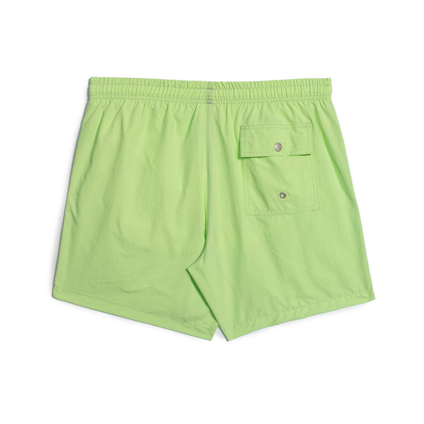 Solid Pistachio Swim Trunk