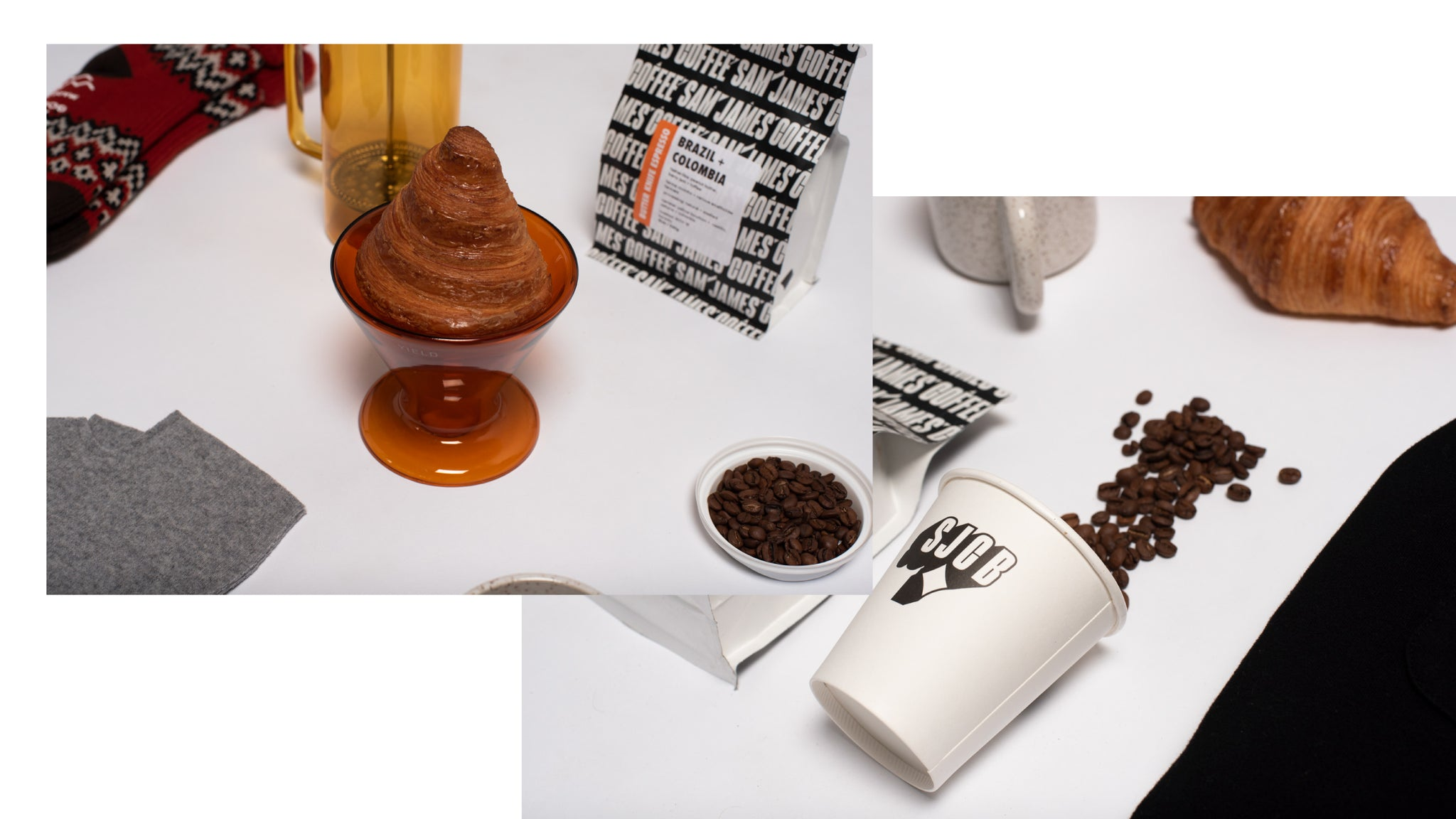 Photo collage of all of the products featured in our Home Brewer gift guide