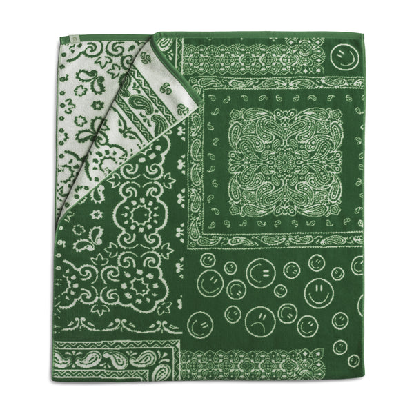 Green Bandana Towel