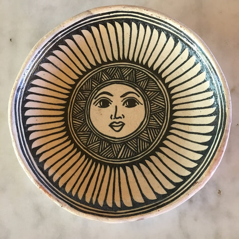 Handpainted Plates by Angelica Morales Gamez