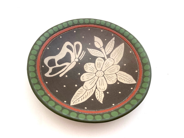 Burnished Pottery Art- 6 inch Plates