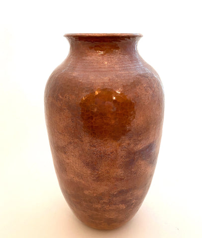 "Hammered Copper Vase-""Cocucha"""