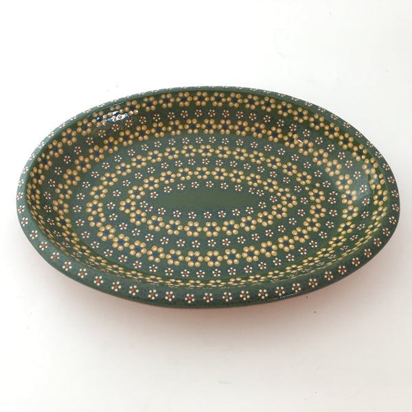Small Hand painted Capula Serving Platter OUT OF STOCK