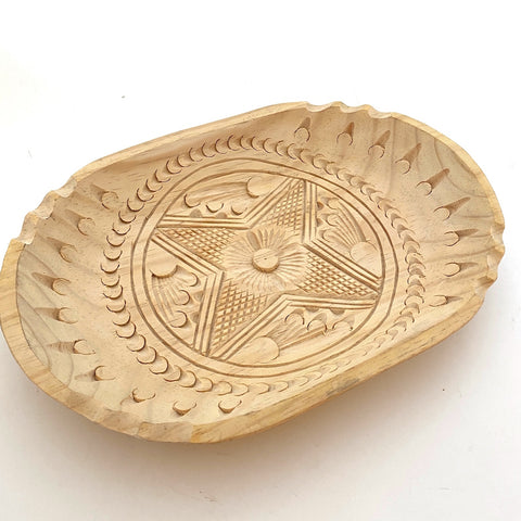 Carved Wood Tray