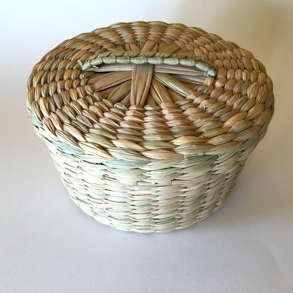 Extra Large Handwoven Tortilla Basket w/lid OUT OF STOCK
