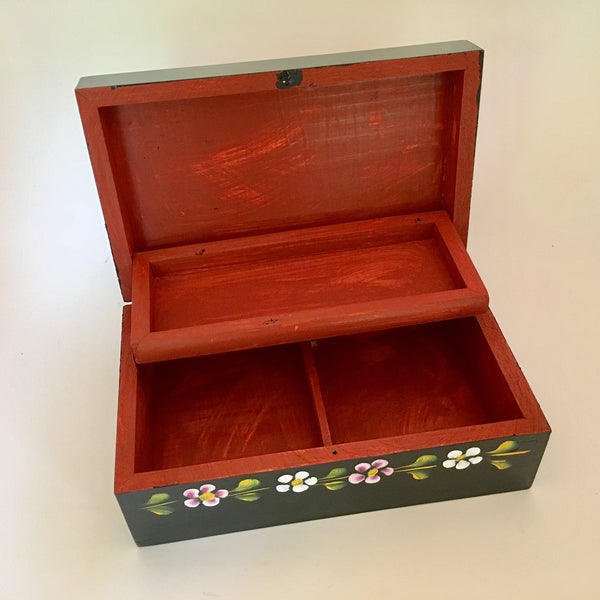 Painted Jewelry Box from Quiroga