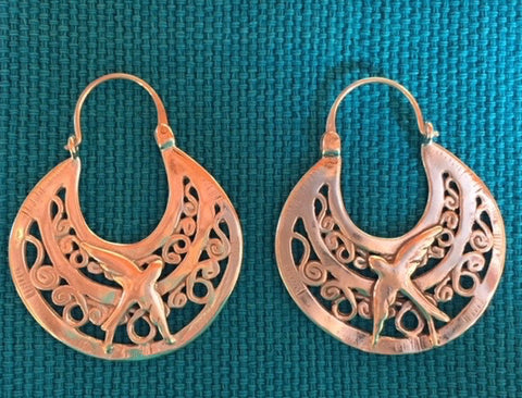 "Silver Earrings -""Golondrinas"" OUT OF STOCK"