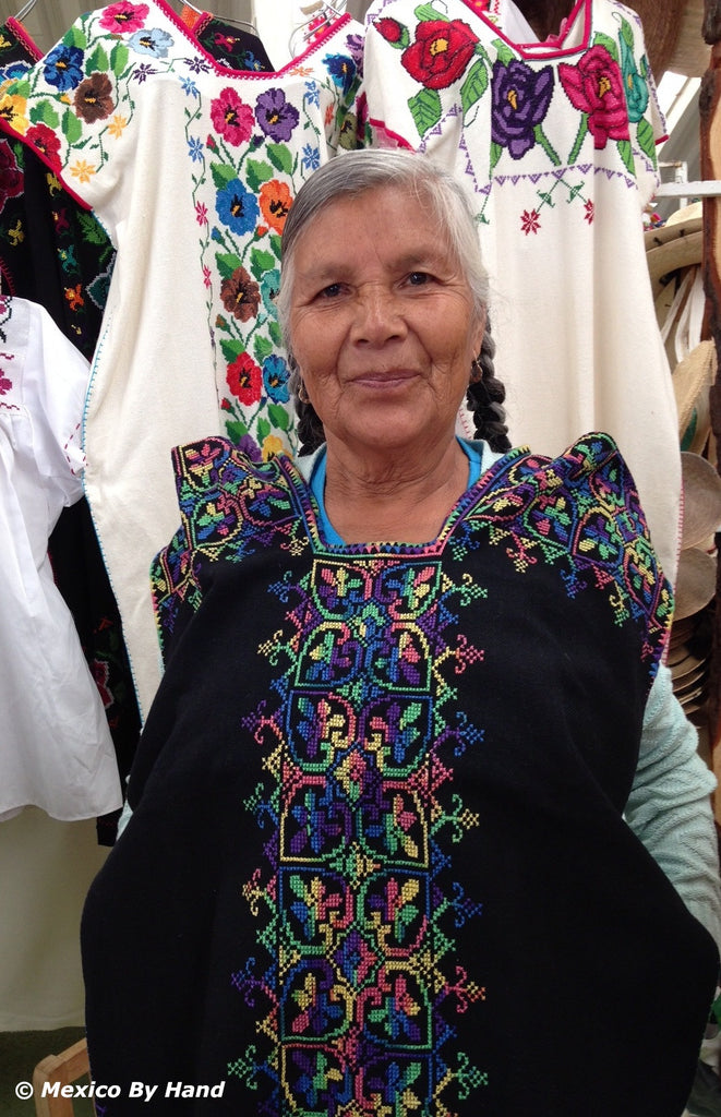 "Embroidered Blouse - ""Cocucho"" S/M SOLD"