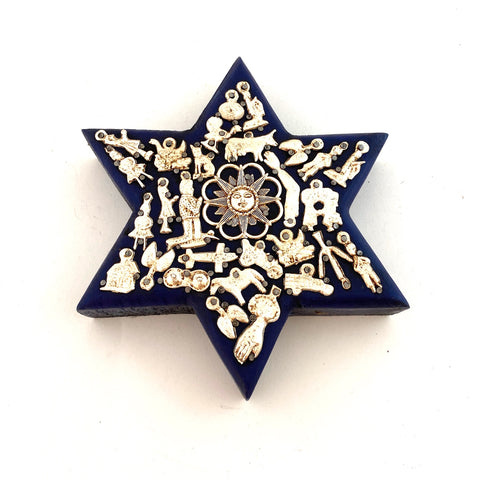 Star of David with Milagros