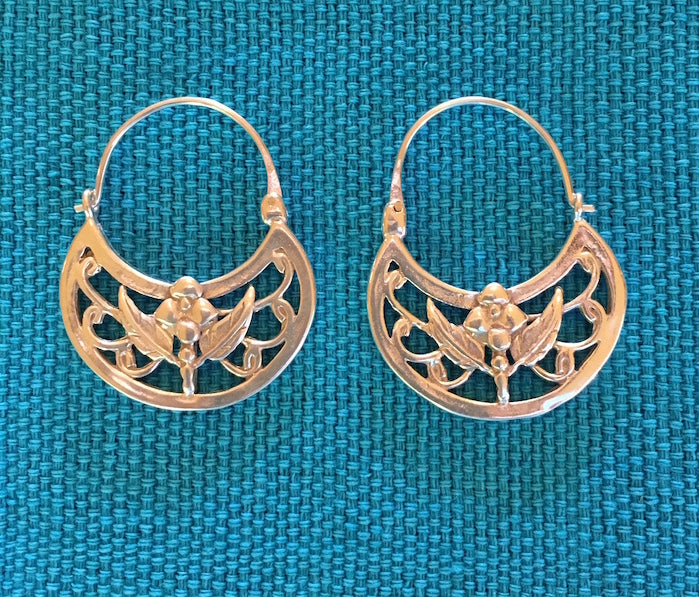 "Silver Earrings -""La Paz"" OUT OF STOCK"