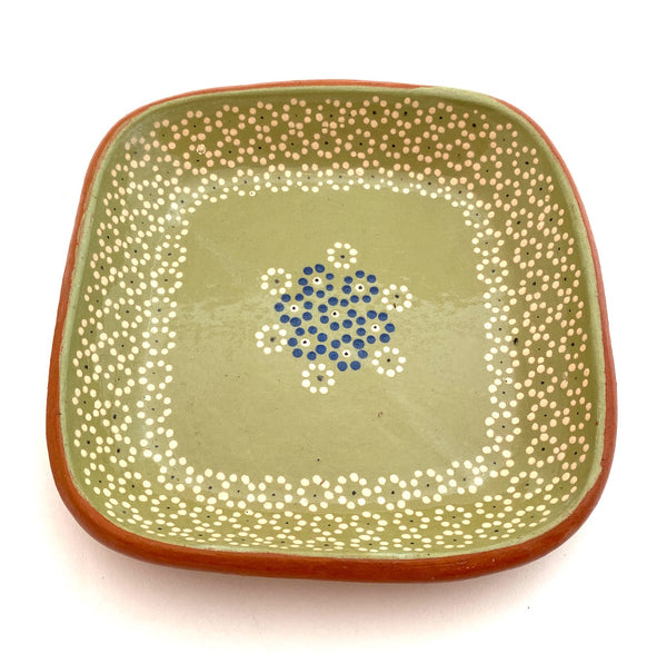 Handpainted Small Square Dishes