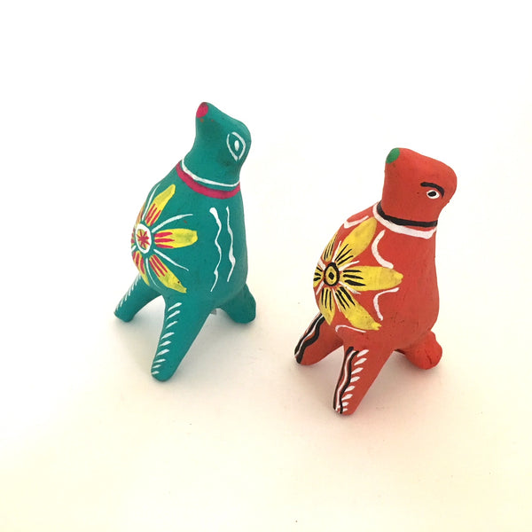 Ocumicho Clay Whistles- Set of 2