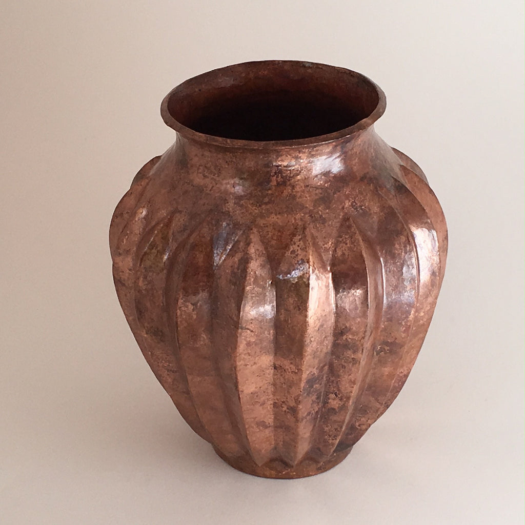 Hammered Copper Vase SOLD
